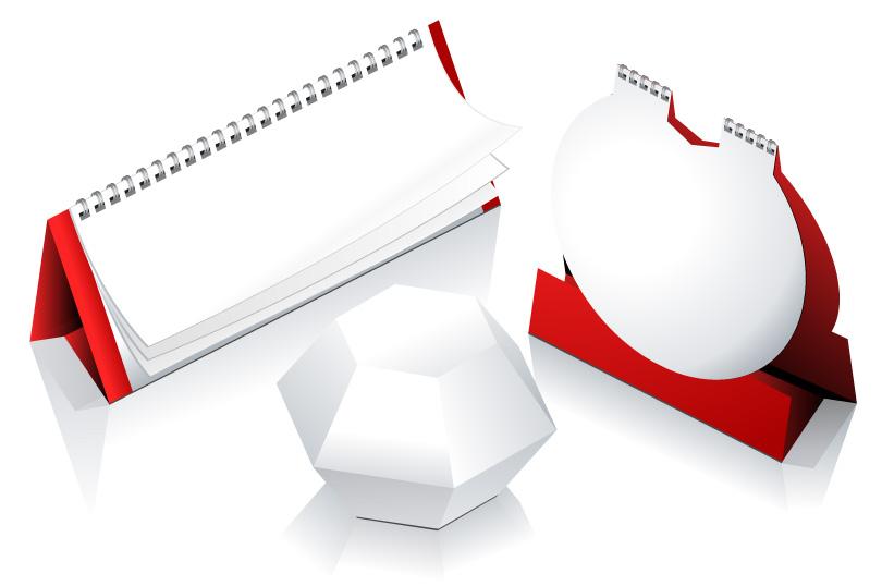 Desk Calendar 2012 Model
