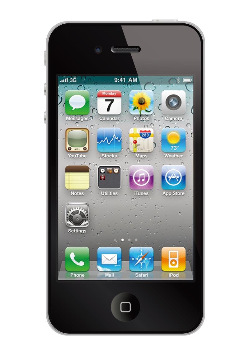 iPhone 4 Design Vector