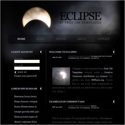 Eclipse free vector graphic download for Eclipse comment template