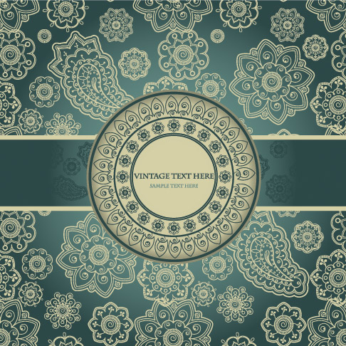 European Classical Pattern Vector | Free Vector Graphic ...
