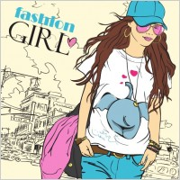 Fashion Beauty Girl