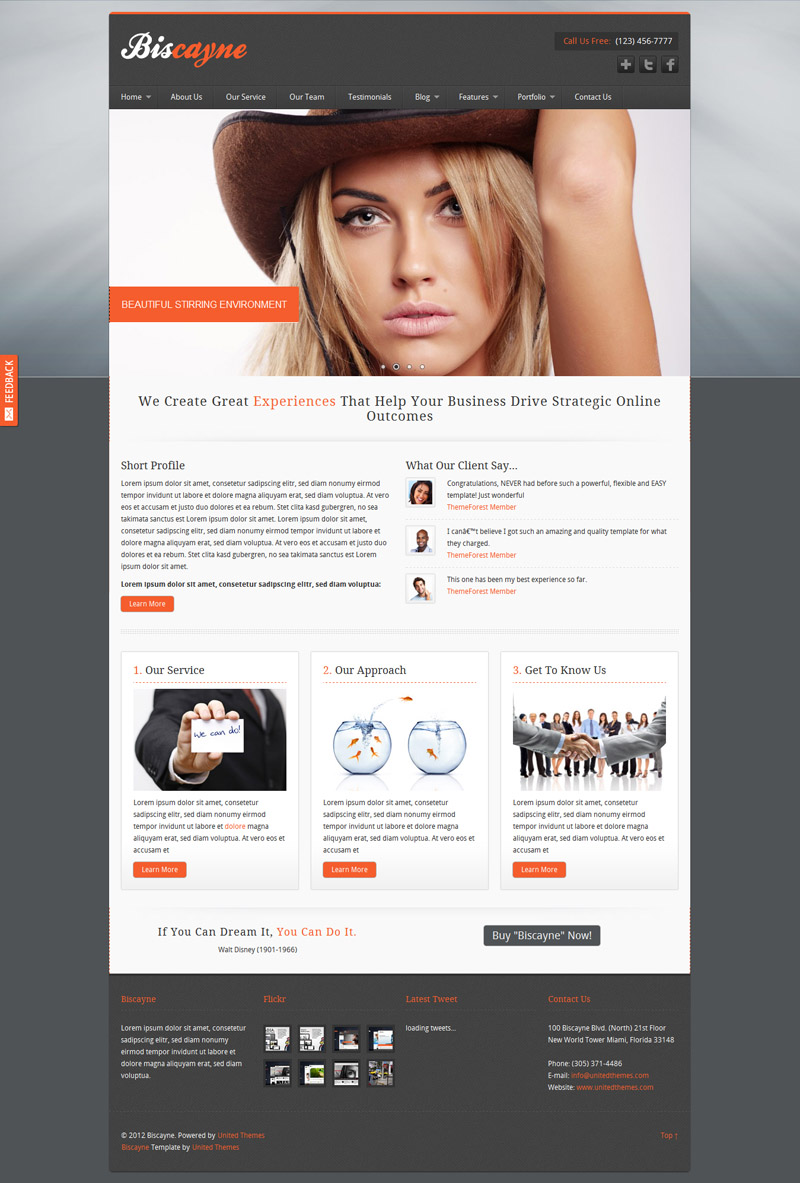 Biscayne web template free vector graphic download biscayne web template maxwellsz