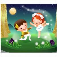 Boy & Girl Dancing