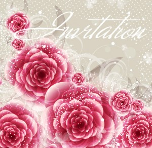 Bright Roses Card Design 2