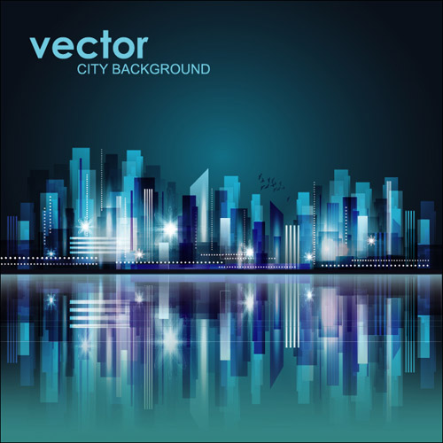 City Background Vector | Free Vector Graphic Download