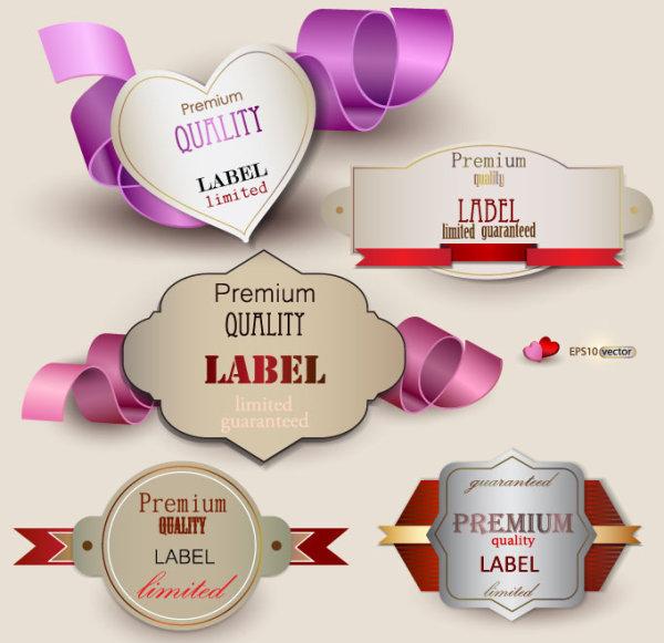 Classic sweet label
