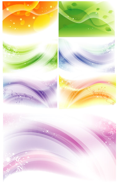 Colorful Dynamic Pattern Background