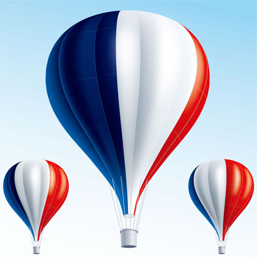Flag Design A Hot Air Balloon