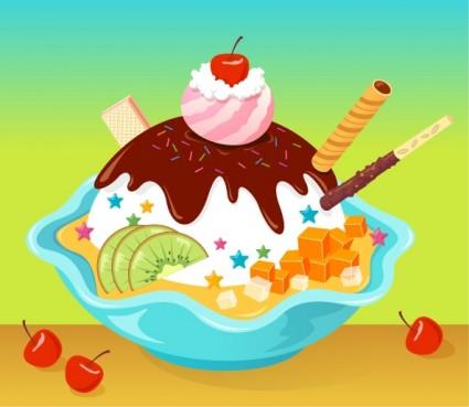 Ice Cream Cartoon Free Vector Graphic Download