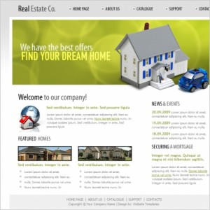 Real Estate Co. Web Template 1
