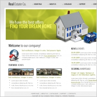 Real Estate Co. Web Template
