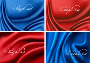 Realistic Silk Background