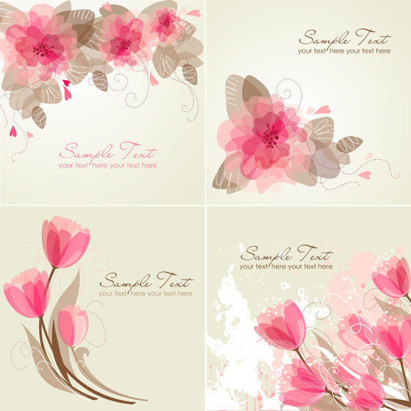 Simple Flower Background 2