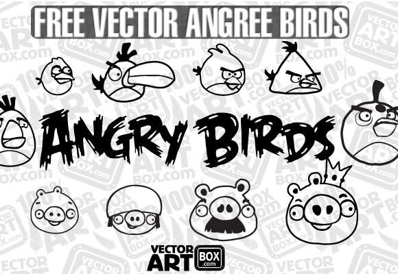 Sketch Angry Birds