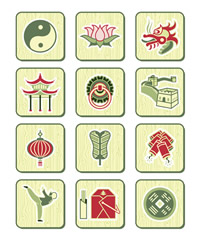 Traditional Chinese symbols 2 1