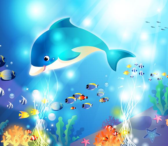 Vector Underwater Artwork