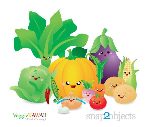 Veggie Kawaii