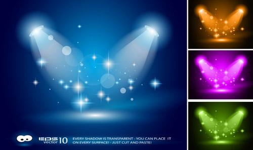 Blue Spotlight 3
