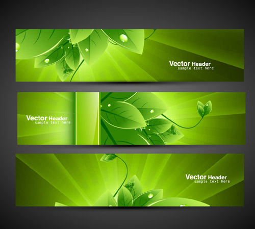 Environmental Green Leaf Design 2