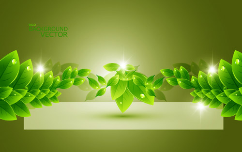 Environmental Green Leaf Design 3
