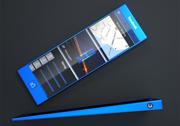 Facebook Concept Phone
