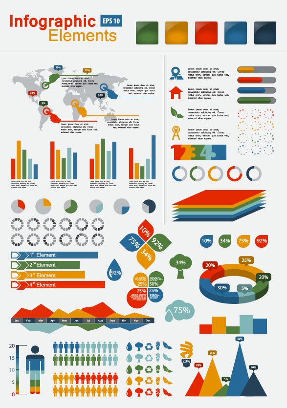 Infographics And Chart 2 : Free Vector Graphic Download