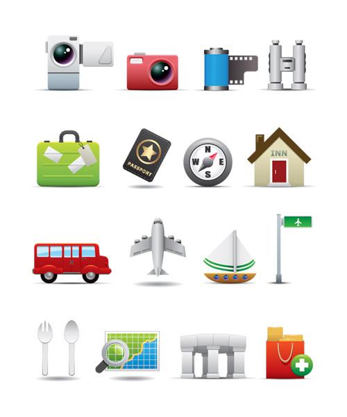 Leisure Travel Icon