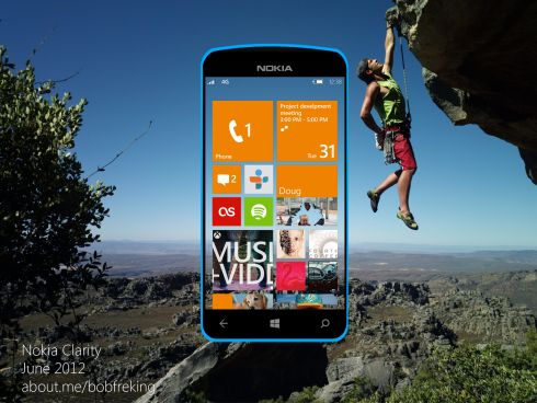 Nokia Windows Phone 8 Concept Phone 3