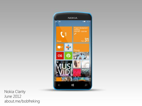 Nokia Windows Phone 8 Concept Phone 4