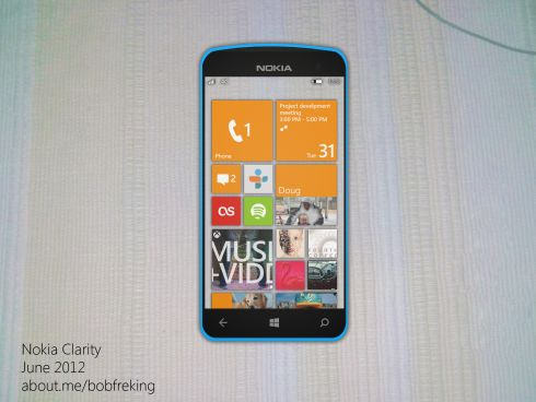 Nokia Windows Phone 8 Concept Phone