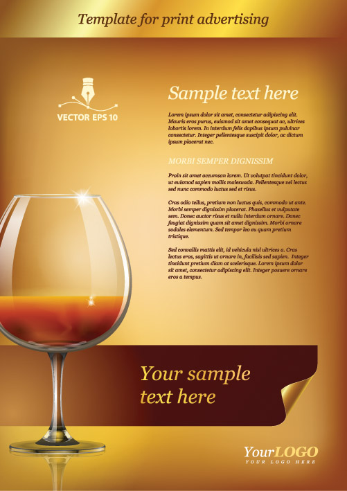 Template for Print Advertising 2