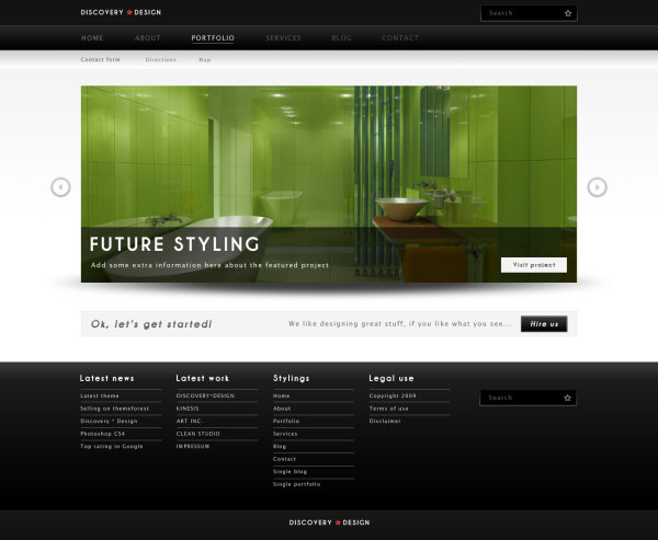 WordPress Theme Web Template