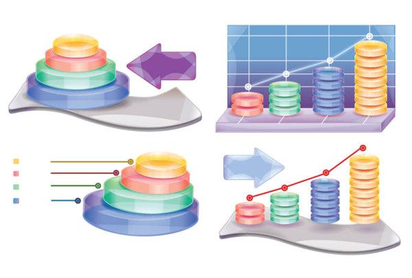 3D Data Chart