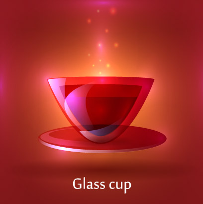 3D Glass Cup