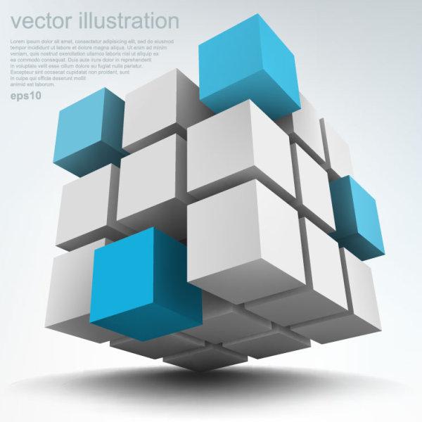3D Technology Background 4