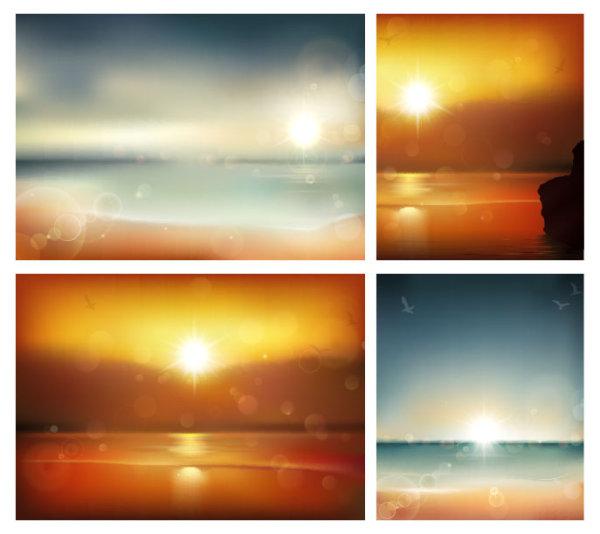 Hazy Sea View