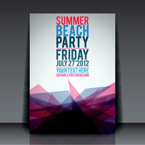 Summer Beach Party Flyer 3