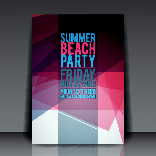 Summer Beach Party Flyer 4