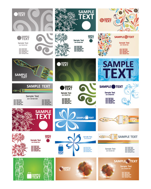Classical Creative Business Cards
