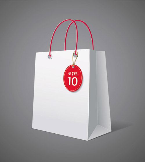 Shopping Bag Design | Free Vector Graphic Download