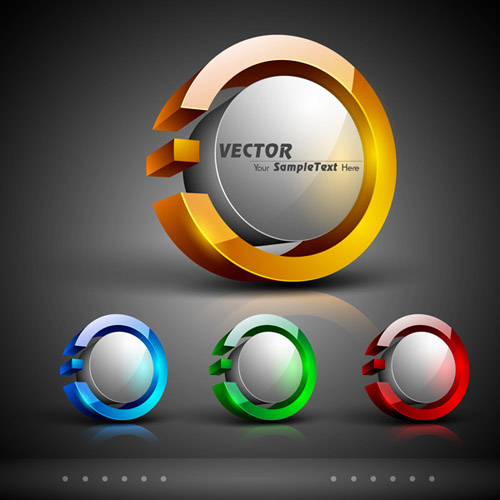 3D Stereo Icon