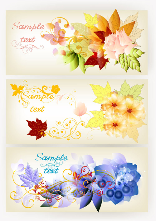 Brochure Design In Floral Style 2