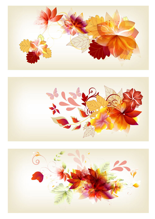 Brochure Design In Floral Style