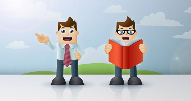 Business Man Vector Characters