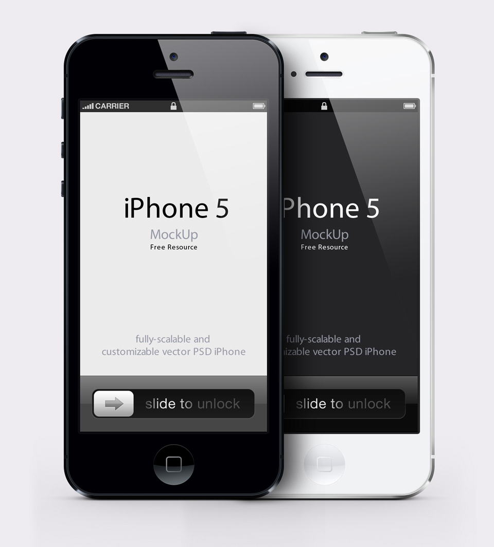 iPhone-5-Black-White-MockUp