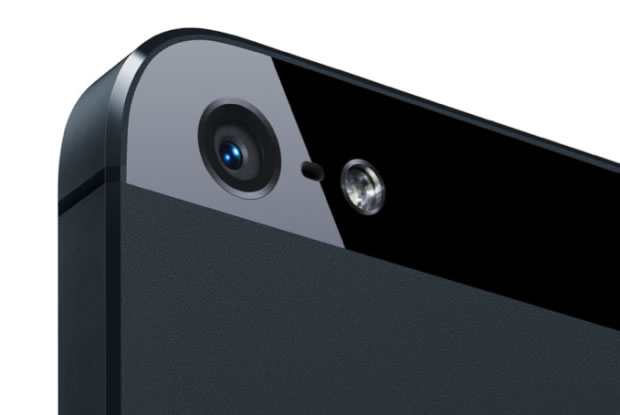 iPhone 5's new iSight camera
