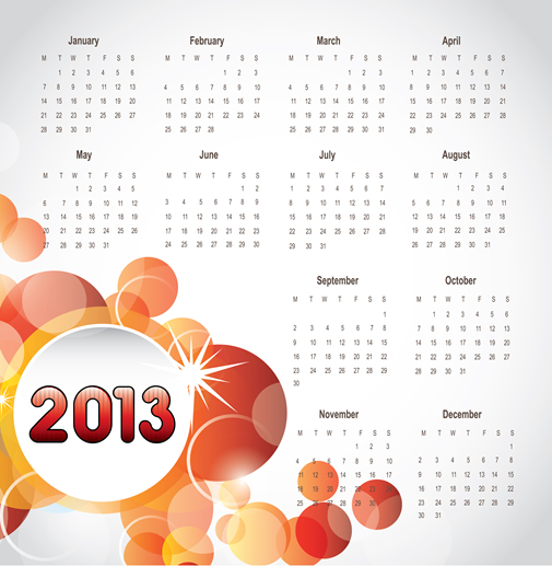 Calendar 2013 10