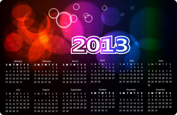Calendar 2013 11