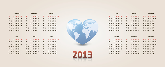 Calendar 2013 25