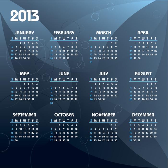 Calendar 2013 31